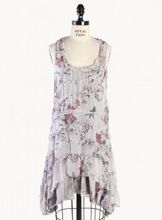 Nadiene Print Dress. Could be used as: Fairy Costume