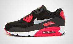Essential Nike Air Max 90 (black / infrared)