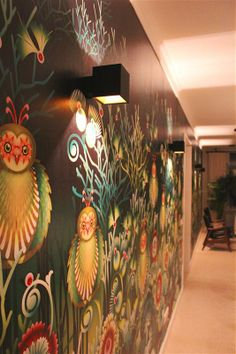 hallway project with wall surface lighting fixtures blox by tal. Black Bedroom Furniture Sets. Home Design Ideas