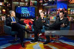 Andy Cohen, Nick Carter and Jordan Knight --
