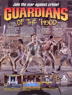Guardians of the 'Hood (Atari 1992)