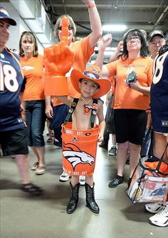 Denver Broncos Halloween, Game Day Costumes - Predominantly Orange - A Denver Broncos Fan Site - News, Blogs, Opinion and more.