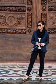 Black and Navy Florence Outfit