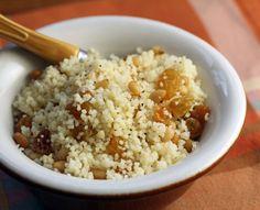 Instant couscous (Recipe: sweet couscous for a crowd)