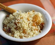 Instant couscous (Recipe: sweet couscous for a crowd) - The Perfect Pantry