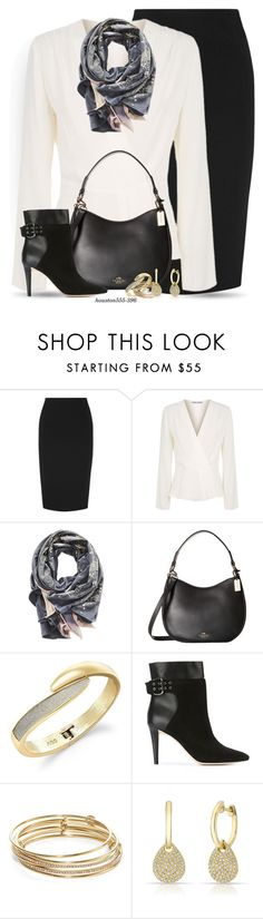 """All dressed up and nowhere to go"" by houston555-396 ❤ liked on Polyvore featuring Victoria Beckham, Elizabeth and James, Sophie Darling, Coach, ABS by Allen Schwartz, Jimmy Choo, Kate Spade and Anne Sisteron"
