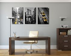 New York Photography Liberty Statue Black and white Office Wall Decor, Office Walls, Large Canvas Art, Large Wall Art, New York Black And White, New York Photography, Nyc Art, Black And White Photography, Statue Of Liberty