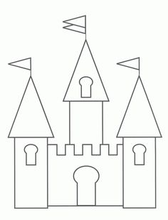Free printable castle coloring pages for kids kinder fairy tales castelo mais maxwellsz