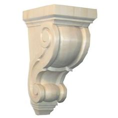 Foster Mantels, Classic 1 in. x 3.5 in. x 3.5 in. Unfinished Aspen Corbel, C143A at The Home Depot - Mobile