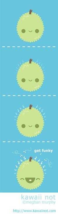 Kawaii Not - Funky Durian