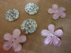 Whiff of Joy - Tutorials & Inspiration: Shrink Plastic Buttons by Jane Johnson
