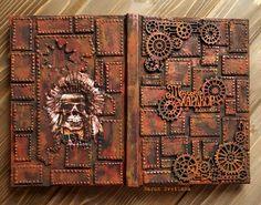 Svetlana Book Journal, Journals, Steampunk, Crafty, Creative, Albums, Blog, Designers, Blogging