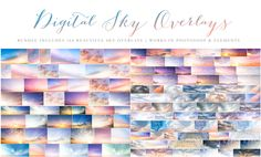 Love these sky overlays from Modern Baby Photography!  Would love to win these in their Pin it to Win it!