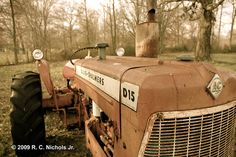 old Allis-Chalmers tractor