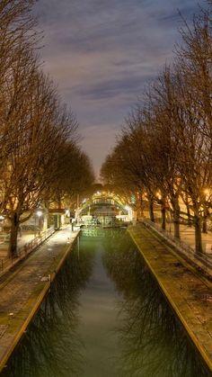 Canal Saint Martin, Paris