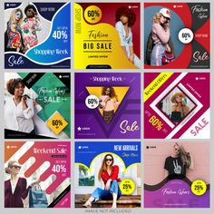Discover the best Vectors, Photos & PSD files from Shubham_designs - Free Graphic Resources for personal and commercial use Social Media Ad, Social Media Branding, Social Media Banner, Social Media Template, Social Media Design, Social Marketing, Marketing Digital, Online Marketing, Banner Design Inspiration