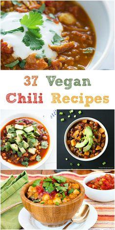 37 Vegan Chili Recipes