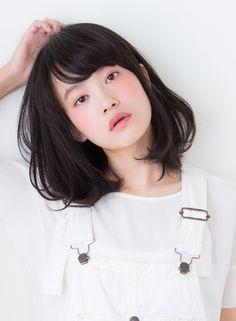 シンプルでスタイリングしやすいミディアム 【arietta】 http://beautynavi.woman.excite.co.jp/salon/27794?pint ≪ #mediumhair #mediumstyle #mediumhairstyle #hairstyle・ミディアム・ヘアスタイル・髪形・髪型≫