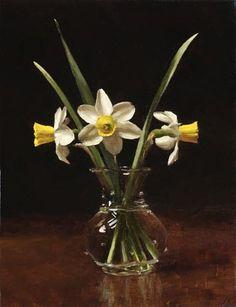 Sarah Lamb Daffodils Paintings I Love, Original Paintings, Flower Paintings, Watercolor Illustration, Watercolor Art, Sarah Lamb, Still Life Flowers, Still Life Art, Realism Art