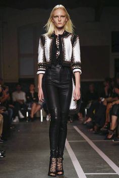 There was a lot about these outfits that harkened back to pieces that Tisci created at the start of his career at Givenchy. Description from nowfashion.com. I searched for this on bing.com/images