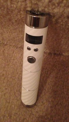 White Carbon Fiber VAMO wrap