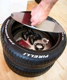 Cuando Veas Todo Lo Que Puedes Hacer Con Neumáticos Reciclados VAS A GRITAR De La Emoción ¡Son IDEAS GENIALES!! - Tus Manualidades.