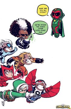 Uncanny Avengers #1 by Skottie Young *