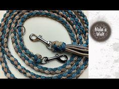 Paracord Diy, Paracord Dog Leash, Paracord Braids, Paracord Projects, Paracord Bracelets, Macrame Bracelets, I Cord, Bracelet Tutorial, Diy And Crafts