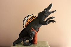 Dinosaur cake topper - Cake by Ilana