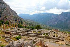 Archaeological Site of Delphi, Delphi, Phocis, Greece