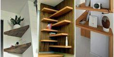 Sublime useful tips: floating shelves TV stand bedroom floating reef Corner Shelves, Wood Shelves, Storage Shelves, Bookshelves Ikea, Regal Bad, Floating Shelf Decor, Diy Regal, Living Room Shelves, Tv In Bedroom