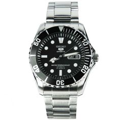 Seiko 5 SNZF17K1 Sports Automatic Mens Diving Watch SNZF17