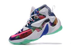 7e8f46e4a875 2016-2017 Sale Lebron 13 XIII 25K 25000 Multicolor Rainbow White New  Arrival 2016 Air