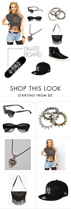 """Untitled #55"" by littleluv ❤ liked on Polyvore featuring Valentino, ASOS, New Era and ALDO"