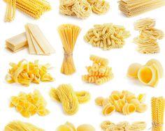 A Pasta Lover's Guide to Pasta Shapes (Slideshow) Giada De Laurentiis, Pasta Recipes, Cooking Recipes, Cooking Tips, Healthy Recipes, Pasta Shapes, Drying Pasta, Fresh Pasta, Italian Pasta