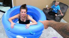 Roman Atwood - Having Our Baby Here!! Today was a nice at home family vlog with the pool and the birth tub.