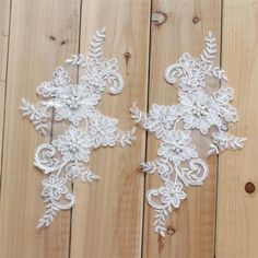 Flower Embroidery Lace Applique Patches Cord Scrapbooking Motif Cloth P. Embroidery Lace Bridal Applique Beaded Pearl Tulle DIY Wedding Dress P. Embroidery Motifs, Beaded Embroidery, Bridal Lace, Pearl Bridal, Wedding Lace, Wedding Dresses, Bridal Gowns, Wedding Motifs, Pearl And Lace
