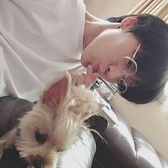 Ten | NCT | NCT U | NCT Ten | KPOP | dogs | cute | ulzzang