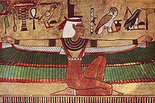 La diosa Isis.
