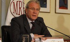 """Perú espera respuesta """"precisa"""" de Chile sobre presunto espionaje."""