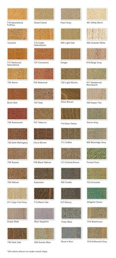 Wood Deck Stain Colors Fence Semi Transpa Farmhouse