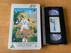 Kimba The White Lion 2 (1965) Entertainment In Video BIG BOX PRE-CERT VHS VIDEO.   eBay Kimba The White Lion, Anime Release, Baboon, Zebras, Cover Art, Video Game, Elephant, Stripes, Entertainment