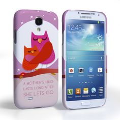 purple samsung galaxy s4 active covers   ... S4 Cases / Caseflex Samsung Galaxy S4 Mummy Owl Hard Case – Purple