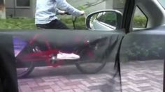 Futuristic Car, Transparent Car, Augmented Reality Helps Drivers See Around Blind Spots, Invisible Car