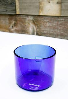 Free Shipping! Rocks Glass - SKYY Vodka Bottle Upcycled by DavesDoodads on Etsy