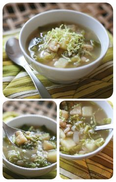 Country Cabbage Soup. Vegan, and it looks delicious!