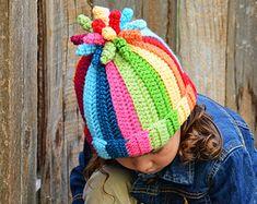 CROCHET PATTERN Tutti Frutti crochet hat pattern by TheHatandI