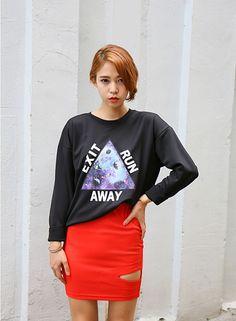 Women Harajuku Galaxy Sweater