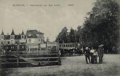 Bussum,-Aankomst van den trein