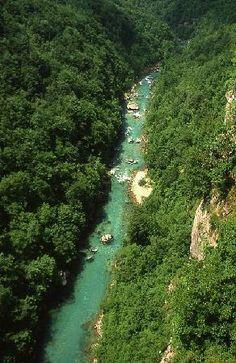 Bosnia and Herzegovina: river Tara canyon